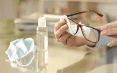 Conheça os cuidados essenciais com óculos, lentes e acessórios na pandemia