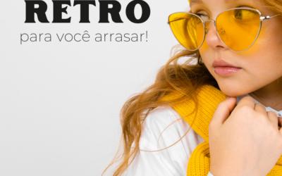 Conheça os estilos de óculos retrô para você arrasar!